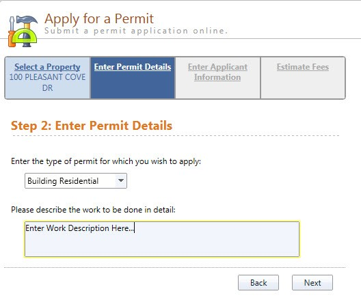 Step 2-Applying for a Permit